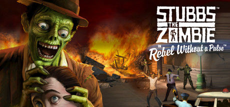 Stubbs the Zombie in Rebel Without a Pulse Free Download PC Game
